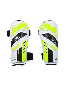 Pro Touch Force 30HS Shin Pads White/Yellow