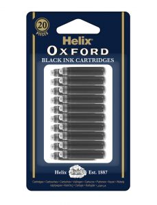 Oxford Ink Cartridge x20 Box Black