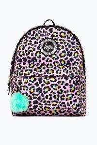 Hype Disco Leopard Backpack Multi