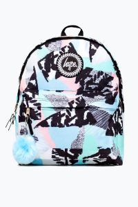 Hype Pastel Abstract Backpack Multi