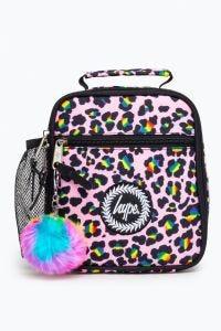 Hype Disco Leopard Lunch Bag Multi