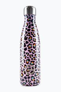 Hype Disco Leopard Water Bottle Multi