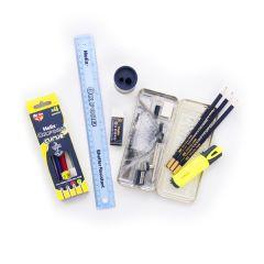 Helix Oxford Complete Pencil Case Multi
