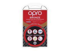 OPRO Bronze Senior Mouthguard Red
