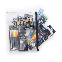 Helix Oxford Ultimate Pencil Case Multi